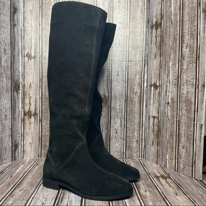 Gianni Bini suede knee high boots , black - 7.5 Like New